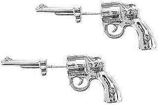 الأقراط مسدس الأذن المثقبة للنساء الرجال - زوج واحد للجنسين مجوهرات الهيب هوب كول