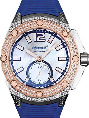 Ingersoll Damen Analog Automatik Uhr mit Plastik Armband IN1104BL