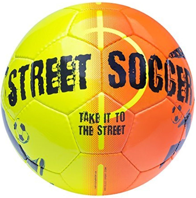 Select Street Soccer Ball, Size 4.5, orange Black by Select