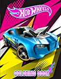 Hot Wheels Coloring Book: An Inspiration Gift For Mega Fans Of Hot Wheels Relaxing And Discovering Coloring Fun. A Way For Relaxation And Stress Relief