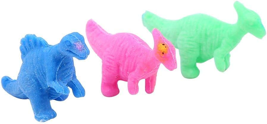 Zerodis 60 Pezzi Simulazione Giocattolo di Uova di Dinosauro Gioco da cova in Crescita Giocattoli Colorati Dino Dragon Giocattoli cognitivi della Prima Infanzia per Bambini Giochi di societ/à #2