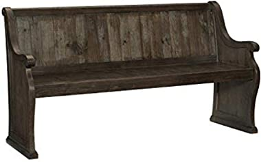 "Lexicon Kavanaugh 67"" Dining Bench, Brown"