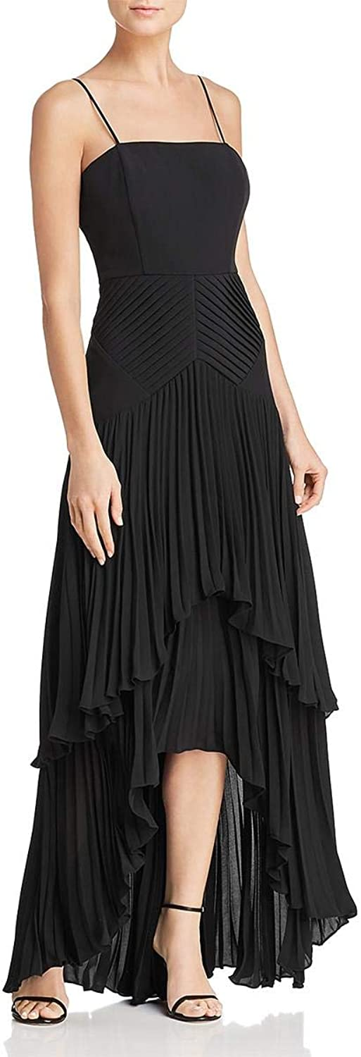 Laundry by Shelli Segal Womens High Low Special Occasion Evening Dress