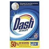 Dash Detersivo Polvere Lavatrice, 114 Lavaggi, Classico, Bucato Pulito, Maxi Formato, Rimuove le Macchine, Brillantezza per Tutti i Capi