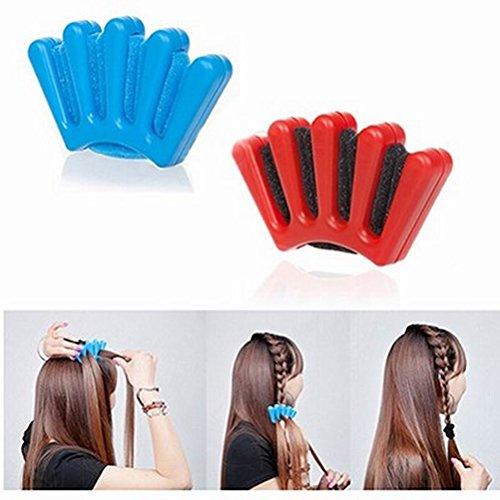 Nuolux, accesorio para peinado de cabello, para trenza, 2 unidades