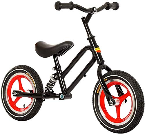 Find Bargain YPYJ 12 Kids Balance Bike No Pedal Baby Mini Bike 12 Bicycle for Children Riding Toy B...