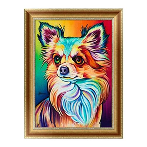Arich Little Dog 5D Diamond Painting Embroidery Cross Stitch DIY Art Craft Home Wall Decor