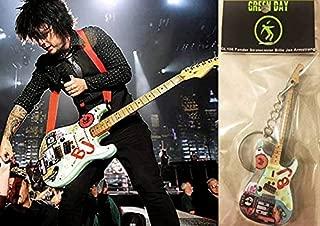 Keychain Guitar Fender Stratocaster Billie Joe Armstrong Green Day