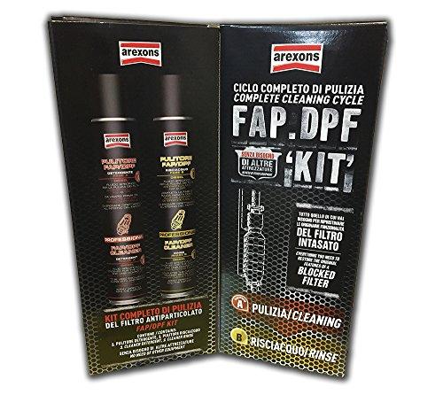Kit pulizia & manutenzione FAP / DPF Arexons (Con Additivo Carburante Incluso) - NUOVO STOCK 3705 + 9842