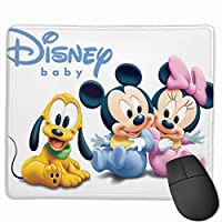 ディズニー ミッキーマウス 【最新版】マウスパッド ゲーミング オフィス最適 高級感 薄い おしゃれ 防水 耐久性が良い 滑り止めゴム底 ゲーミングなど適用 マウスの精密度を上がる 25*30*0.3cm