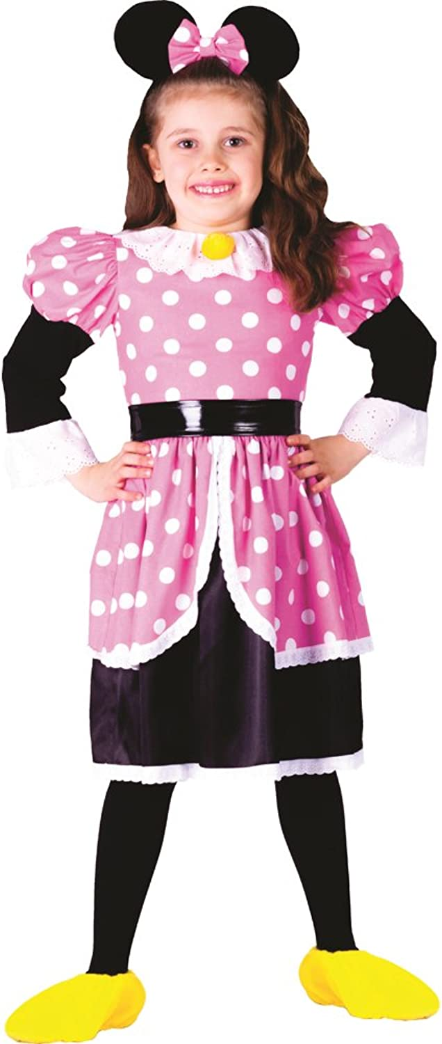 Ms. Mouse Costume - Size small (4-6) by Dress Up America