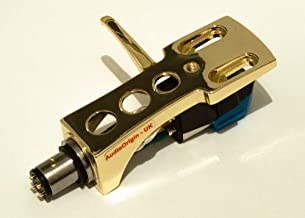 Gold plated Headshell, cartridge, needle for AKAI AP-D33, AP-001C, AP-206C, AP-Q70, AP-207, AP-Q60, AP-002, AP-207, AP-100/C, AP-004, AP-D40, AP-004X, AP-003, AP-206, AP-006, MADE IN ENGLAND