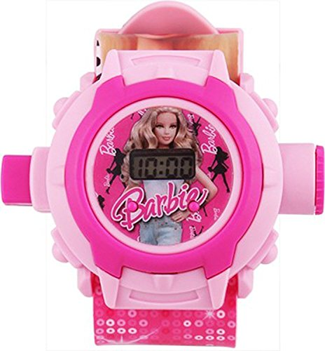 Sunny Digital Boys' & Girls' Watch (Pink Dial Pink Colored Strap)