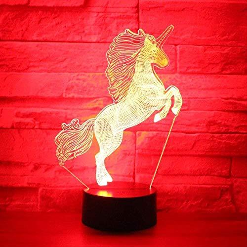regalo para niños lindo delfín saltador 3D luz de noche mesa escritorio bebé lámpara para dormir dormitorio Bar decoración del hogar