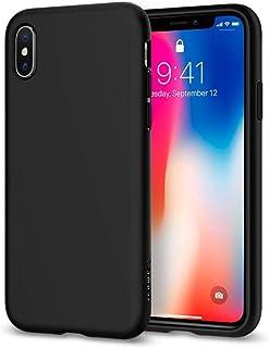 Spigen Protector Cover For Iphone X, Black- 057Cs22119