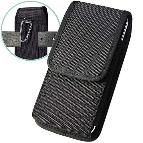 Suhctup Funda Huawei P30 Bolsas de Cuero con Clip de Cinturón,Funda Universal para teléfonos Inteligentes de 6.0 Pulgadas,(para 6.0' Smartphone) Textil, Pinza de cinturón, Lazo para cinturón