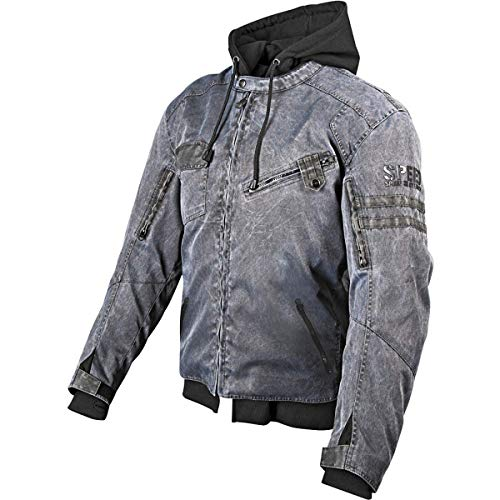 Speed and Strength Off the Chain 2.0 Men's Textile Jacket (Vintage Black, X-Large)
