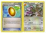 Pokemon Evolution Set - AERODACTYL & Old Amber - 76/124 XY Fates Collide - Rare Card LOT