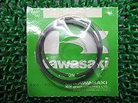 新品 カワサキ 純正 バイク 部品 Z400FX ピストンリングセット 純正 13008-1005 22131756