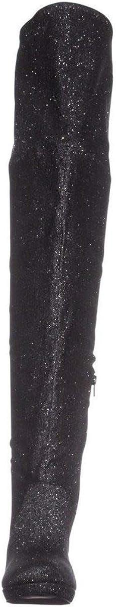 Thalia Sodi Womens Blairre Fabric Closed Toe Knee High Fashion Boots