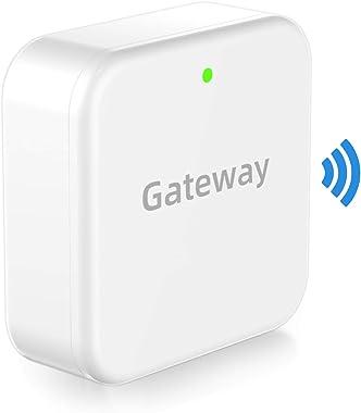 Smart Door Lock WiFi Gateway-SMONET Bluetooth Keyless Entry Keypad Smart Deadbolt Wi-Fi Bridge, TTLock Smart Deadbolt WiFi Hu