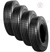 TRIANGLE TR683 - Steer, Trailer position tire - 12R22.5 18PLY (Set of 4)