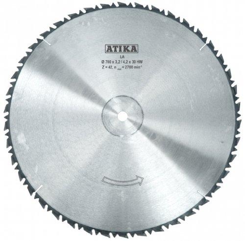 ATIKA Ersatzteil   Hartmetallsägeblatt für Wippkreissäge BWS 500