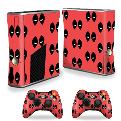 MightySkins Skin Compatible with X-Box 360 Xbox 360 S Console - Dead Eyes Pool | Protective, Durable, and Unique Vinyl Decal wrap Cover | Easy to Apply, Remove, and Change Styles | Made in The USA