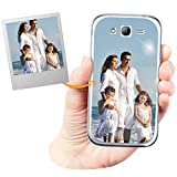 Custom Phone Case with Glossy Effect designed for Samsung