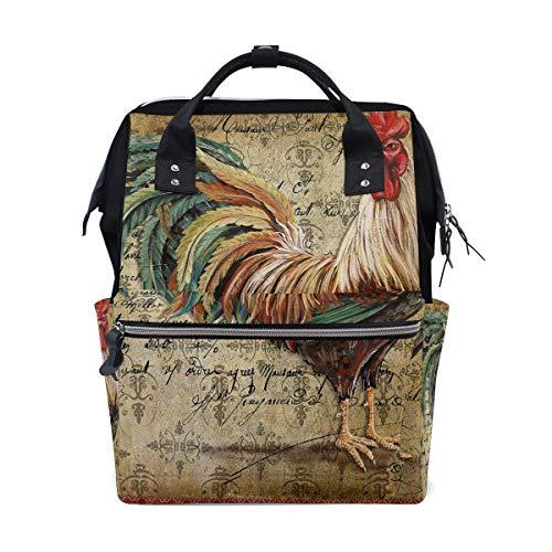 FHTDH Körperpflege Baby- und Kinderpflege Wickeln Wickeltaschen Rucksäcke Mummy Bag Backpack Watercolor Christmas Pattern School Bag