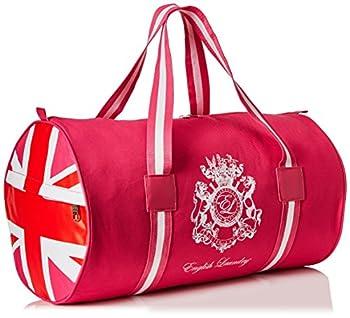English Laundry Union Jack Women s Duffle Bag Hot Pink 0.5 lb.