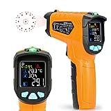 赤外線放射温度計 Aidbucks AD-70-50℃~800℃ 赤外線温度計 非接触温度計 温度計 料理用 デジタル温度計