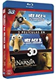 ice age blu ray collection - Pack: Ice Age 4 + Ice Age 3 + Las Crónicas De Narnia 3