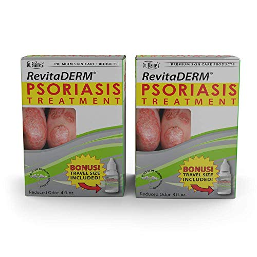 Dr. Blaine's RevitaDERM Psoriasis Treatment 4 oz (Pack of 2)