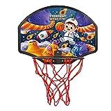 YILING Juego de mini canasta de baloncesto para niños, para interior y exterior, plegable, impermeable, con 1 pelota de baloncesto