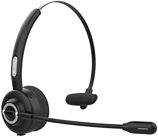 Auriculares Bluetooth v5.0 de Diadema de Teléfono Call Cent