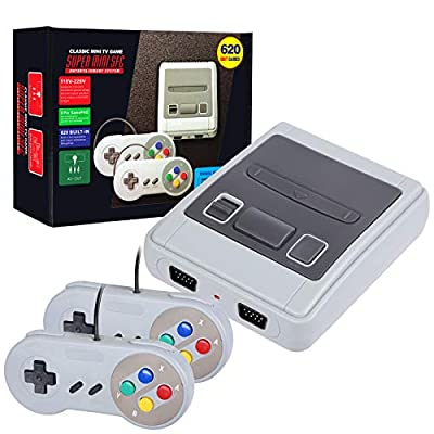 LIFTREN Plug & Play Classic Handheld Game Console,Classic Game Console Built-in 620 Game Handheld Game Console, Video Game Player Console for Family TV Video by LIFTREN