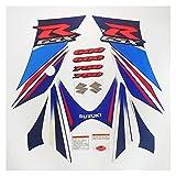 Almohadilla de tanque de motocicleta Motocicleta para su-zu-ki g-sxr 600 750 gsxr600 gsxr750 06-07 k6 k7 2006 2007 kit completo pegatina calcomanía protector decorativo Etiqueta engomada de la motocic