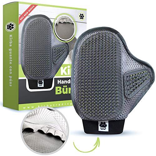 Kirba Trading ® Premium Handschuhbürste für Hund & Katze (verbesserte Version) -...