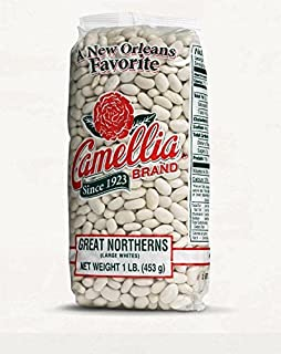 Camellia Brand Great Northern Beans Dry Bean 2 Pound Bag