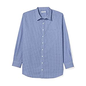 Men's Big & Tall Wrinkle-Resistant Long-Sleeve Shirt