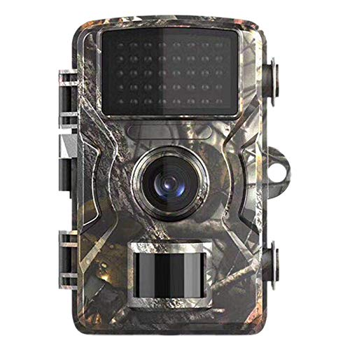Cámara de caza de 12 MP, 1080P, cámara de caza de juego con visión nocturna, impermeable, LED LCD de 2 pulgadas, visión nocturna