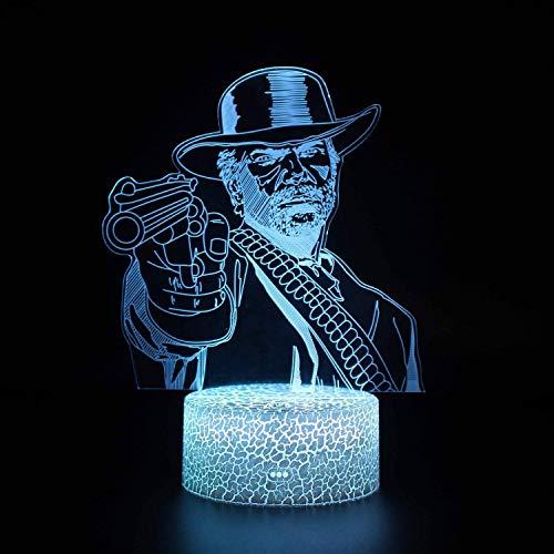 YUMUO Night Light Kids Room Decor Lampe de Chevet avec télécommande et Smart Touch 16 Couleurs changeant Les Cadeaux de sirène dimmable 1 2 3 4 5 6 7 8 Ans Cadeaux pour Filles (Couleur: D)