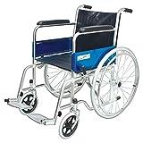 Light weight chromed aluminium frame Fixed armrest Solid castor Solid rear mag wheel Aluminum footplat; Package Contents: KL809L Wheelchair