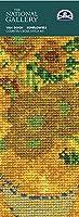 【DMC】 クロスステッチ 刺繍キット BL1116/71 ヴァン・ゴッホ 「ひまわり」 Van Gogh「Sunflowers」 ブックマーク(しおり)