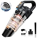 Handheld Vacuum, Meiyou Portable Hand Vacuum Cordless with Powerful Cyclonic Suction, Rechargeable 13.5V Li-ion with Quick Charge Tec, Wet & Dry Vac Cleaner for Car Pet Hair