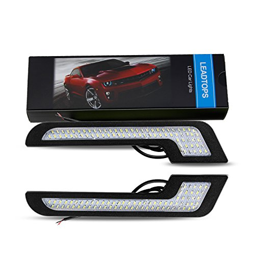 LEADTOPS U-Shape LED Daytime Running Lights