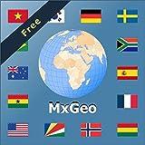 Atlas mundial y mapamundi MxGeo Free