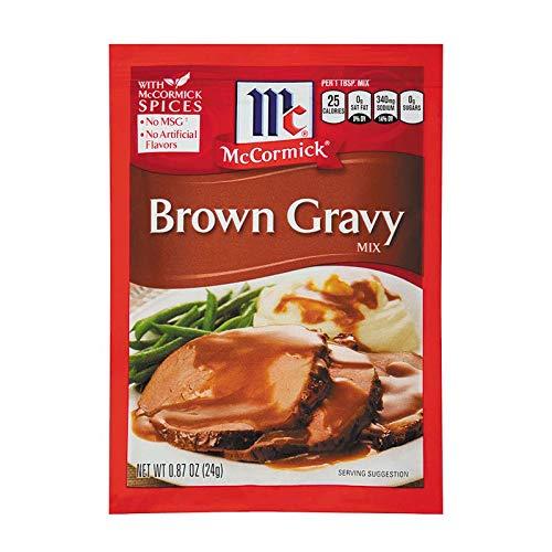 McCormick Brown Gravy Mix (Pack - 3)