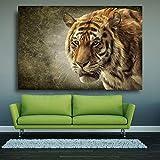 Doyjab Jigsaw Puzzle 1000 Piezas De Madera Puzzle Vida Salvaje del Tigre de Bengala Regalo De Cumpleaños Único Adecuado para Adolescentes Y Adultos 50x75cm